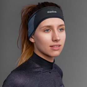 GripGrab Windproof Headband Headband Dame grey